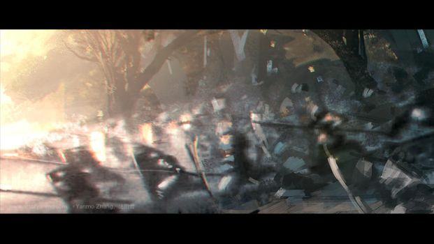 Warcraft Movie Trailer Impression extra #3 by YanmoZhang
