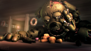 [SFM/FNAF3/Sister Location] I will find you... by NikzonKrauser