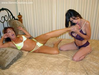 Alexis, Ashley and Olivia - The Tickle Trap! 1 by slamm345