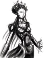 My Twilight Queen_sketch by takkless
