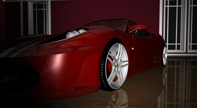 Ferrari F-430-8 by TheRedCrown
