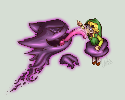 WTF Link-Haunter by Omegaro