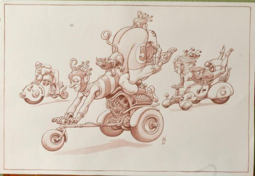 motorciclum atrevidum by Alain-Voss