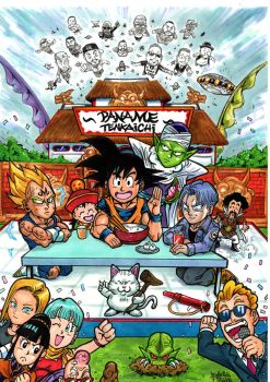 Dragon ball day by Djiguito