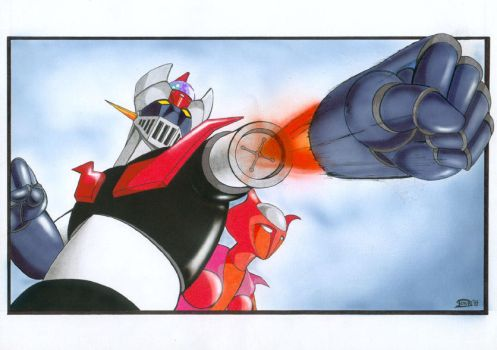 Mazinger Z by Varges