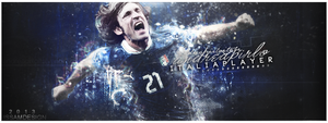 andrea pirlo by issam-gfx