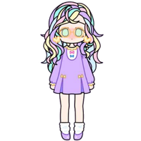 Cute Pastel Girl by Rosemoji