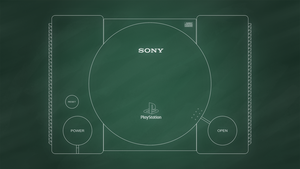 Sony PlayStation [Chalkboard] by BLUEamnesiac