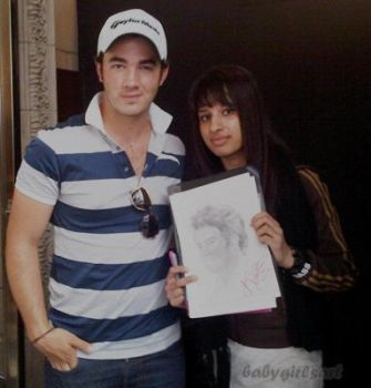 Meeting Kevin Jonas by babygirlsart