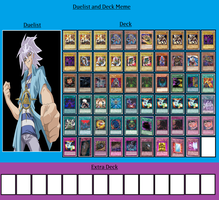 Duelist and Deck - Yami Bakura by MarioFanProductions