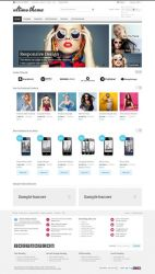 Fluid Responsive Magento Theme  The Best For 2013 by themecavern1