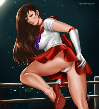 Sailor Mars Fan Art by arion69