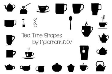 Tea Time Shapes by Nolamom3507