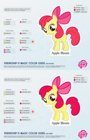 Apple Bloom Color Guide 2.0 [UPDATED] by kefkafloyd