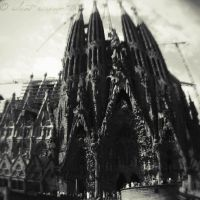 Sagrada Familia. by silent-scream-throe