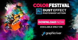 COLOR FESTIVAL PHOTOSHOP ACTION by hemalaya