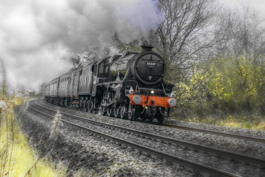 The Lancashire Fusilier 45407  by runwhat
