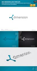 DOA Dimension Logo Template by design-on-arrival