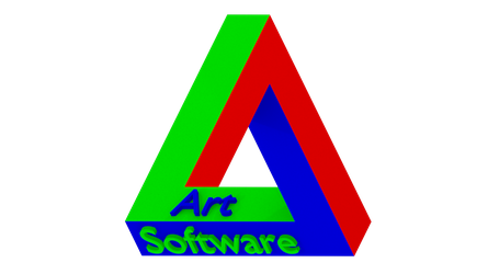 Impossible triangle colored by adriens33