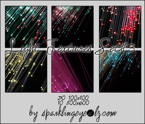 Light Textures Set 3 by sparkling-eye