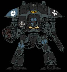 40k Imperial knight: House wilson by SPARTAN-180