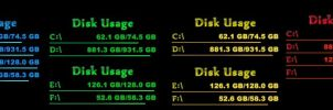 Colored Disk Usage by mic-86