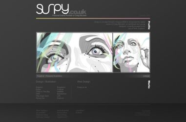 Surpy.co.uk - W.I.P Pt.2 by d4m