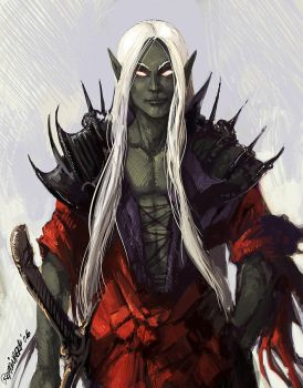 clichee drow by Remainaery