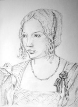 Portrait of venetian woman new by Black-Ofelia-Stock