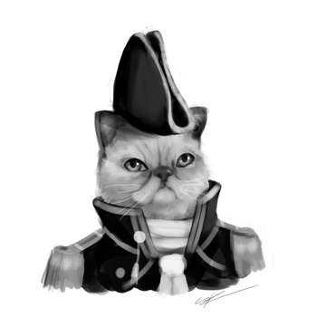 Commission - Lord Admiral Smushington III by Csp499