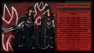 Demon - The Hero of Darkness by theheroofdarkness