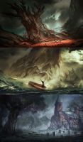 Landscape Paintings by VincentiusMatthew