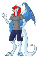 48. Draw Yourself as a Dragon by Kendra-candraw