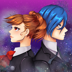 P3 Protagonists by TechnicalBliss