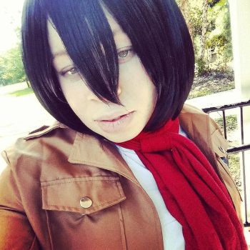 Mikasa Ackerman Cosplay by blackassassins