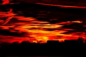 Tiger Sky by AdventuresInAperture