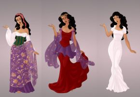 Esmeralda Wardrobe in Goddess Scene by autumnrose83