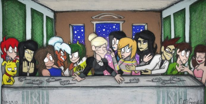 Eliza's Last Supper by InsomniaQueen