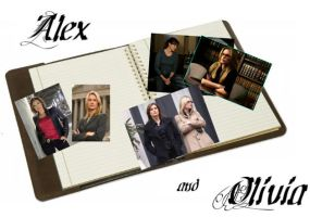 SVU Alex and Olivia wallpaper by Livi-7