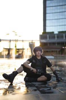 Noctis Cosplay, FFXV by hakucosplay