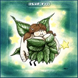 Fat Fairy with a background by Manu-2005