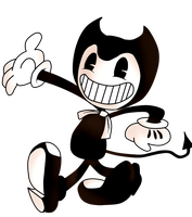 The Dancing Demon ( Bendy and the Ink Machine ) by jasperulilshit