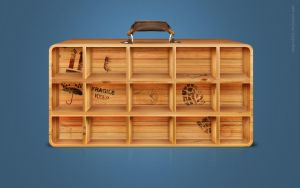 Suitcase for icons by OlegZodchiy