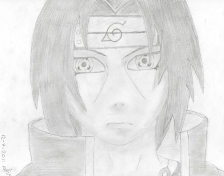 Itachi by lltzurill