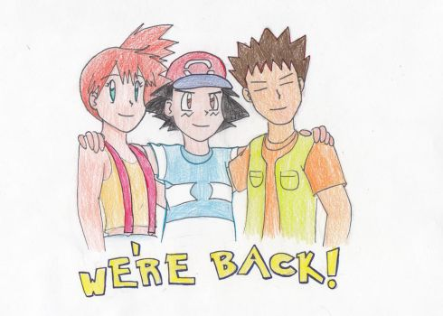 The Trio Is Back by RogersGirlRabbit