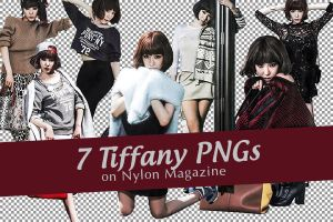 [PNG] 7 Tiffany PNGs on Nylon by SammyYun