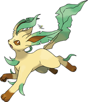 Leafeon v.2 by Xous54