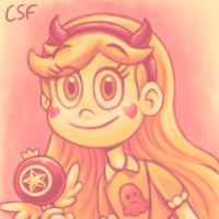 Palette Challenge : Star Butterfly by CartoonSilverFox