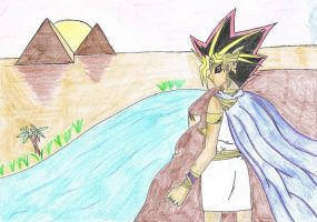 Atem's Ancient Dream by FantasyWriter93
