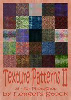 Texture Patterns Part II by Lengels-Stock
